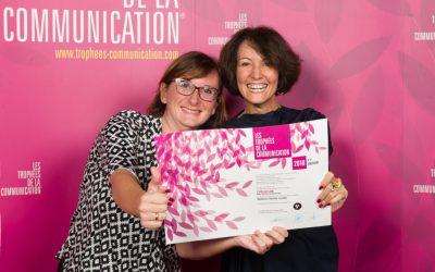 BrandSilver et evoluflor remportent un prix pour la meilleure identité visuelle aux Trophées de la Communication !